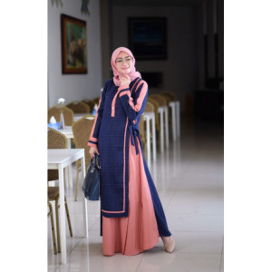 Humaira Dress Salmon