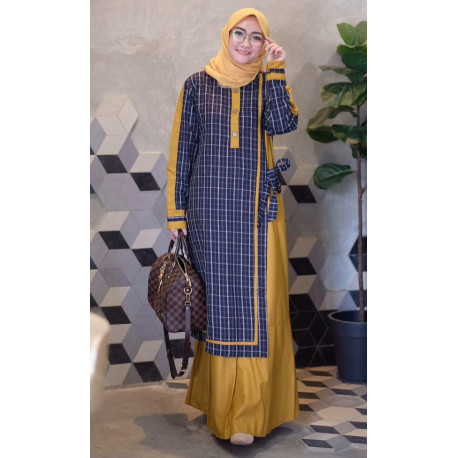Humaira Dress Yellow