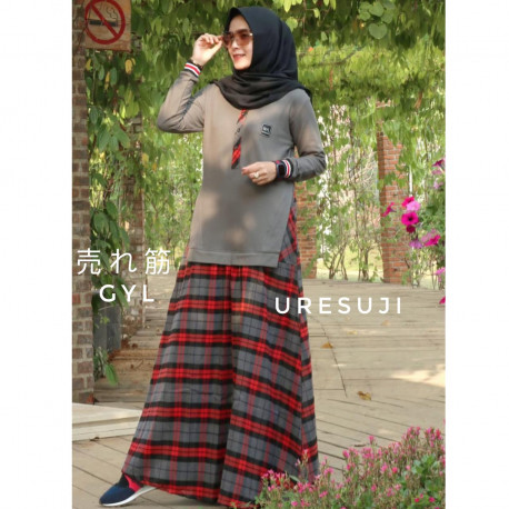 Uresuji Dress Grey