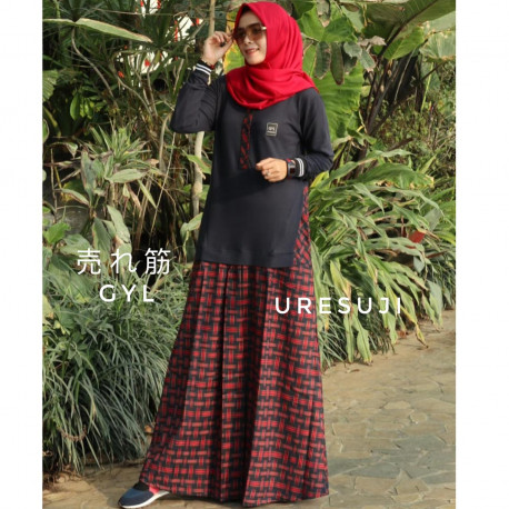 Uresuji Dress Red